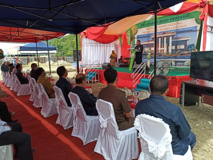 Pengadilan Agama Lasusua Tak Lama Lagi Memiliki Gedung Kantor Permanen | (25/11)